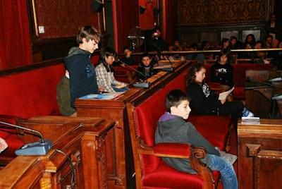 El Consell Municipal d'Infants celebra l'última sessió de l'any