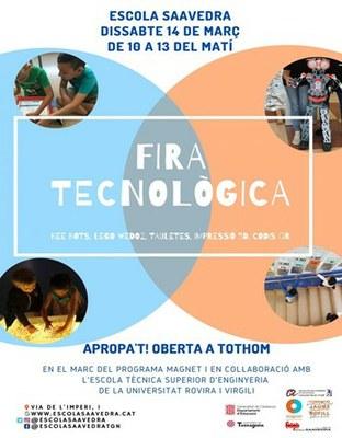 Fira tecnològica a l'Escola Saavedra