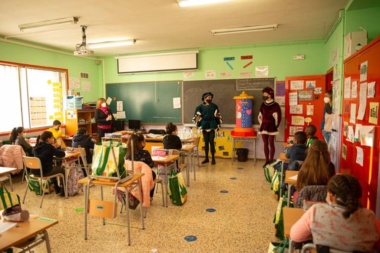 L'Ajuntament de Tarragona porta un tros de Nadal als centres educatius de la ciutat