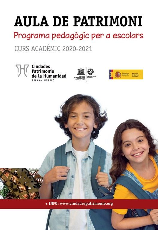 El Col·legi Sant Pau Apòstol representarà Tarragona al concurs del programa pedagògic Aula de Patrimoni 2020-2021