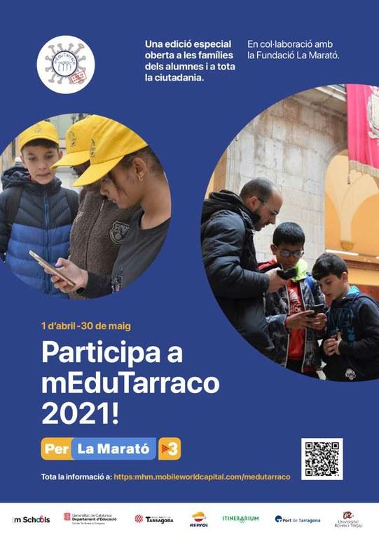 L'Ajuntament de Tarragona participa en el projecte mEduTarraco