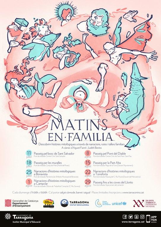 """L'Ajuntament organitza """"Matins en família"""" tots els diumenges de Juliol i Agost"""