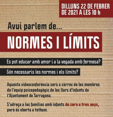 """L'Institut Municipal d'Educació organitza la xerrada """"Normes i límits"""""""