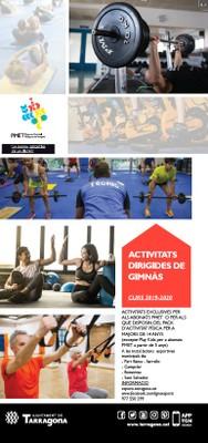 PDF de les activitats dirigides octubre/novembre/desembre