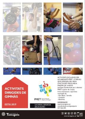 PDF de les activitats dirigides estiu