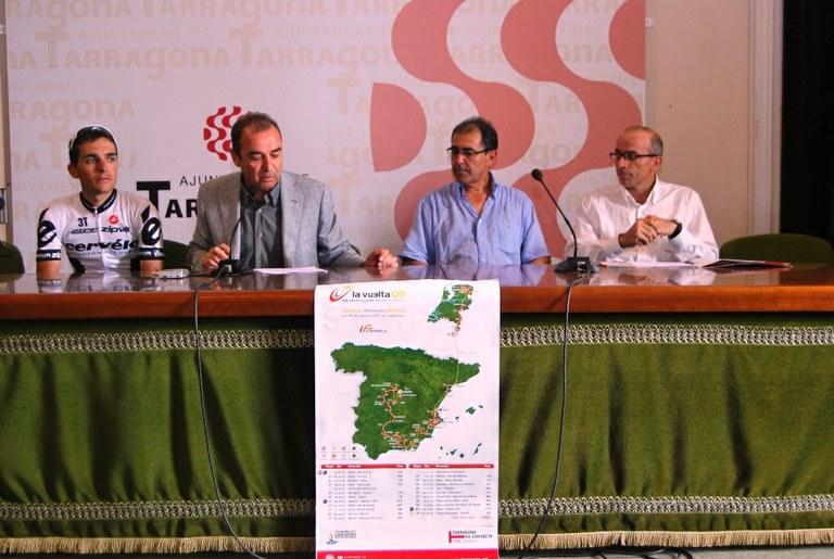 El 3 de setembre, la Vuelta ciclista a Espanya arriba a Tarragona