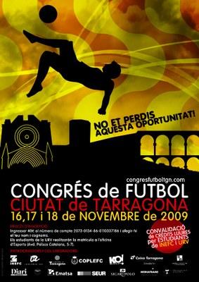 Els propers dies 16, 17 i 18 de novembre se celebra el Congrés de Futbol Ciutat de Tarragona