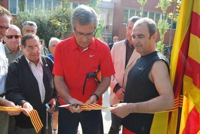 El Complex Esportiu Municipal de Sant Salvador estrena noves pistes de pàdel