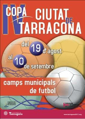 La IV Copa Ciutat de Tarragona torna a enfrontar els equips de futbol locals de categoria territorial