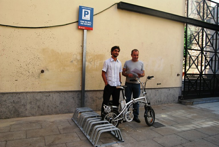 Tarragona estrena 80 places per aparcaments de bicicletes