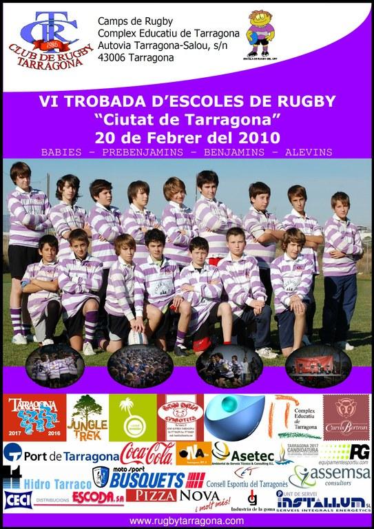 Dissabte se celebra la VI Trobada d'Escoles de Rugbi Ciutat de Tarragona