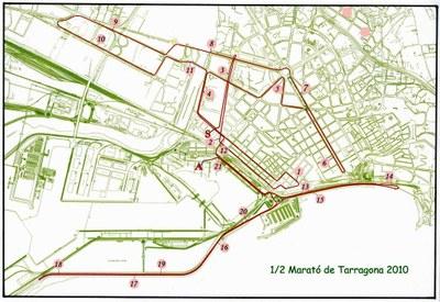 La Mitja Marató Ciutat de Tarragona arriba a la 19a edició