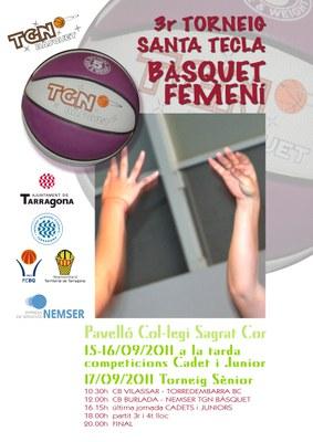 3er Torneig de bàsquet femení Santa Tecla