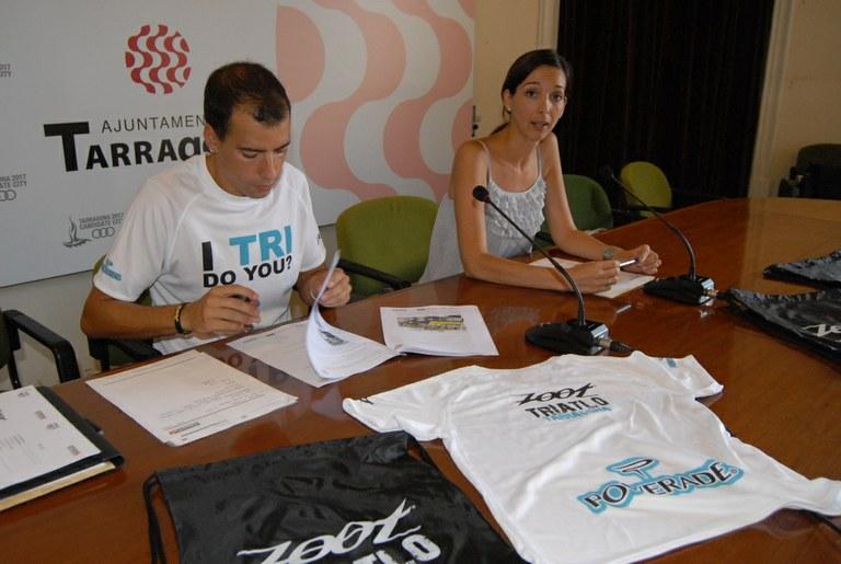 Arriba el I Zoot Triatló a Tarragona