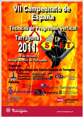 Dissabte se celebra el VII Campionat d'Espanya de Tècniques de Progressió Vertical