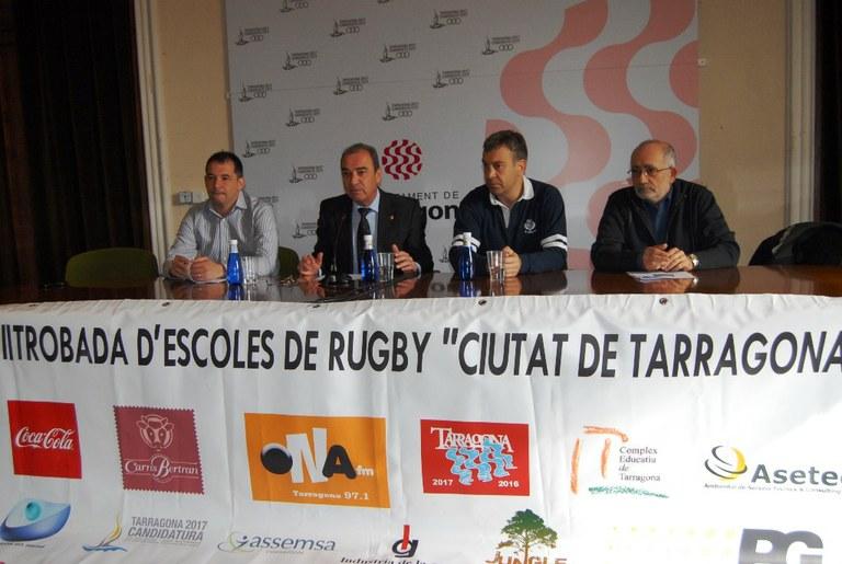 Dissabte se celebra la VII Trobada d'Escoles de Rugbi Ciutat de Tarragona