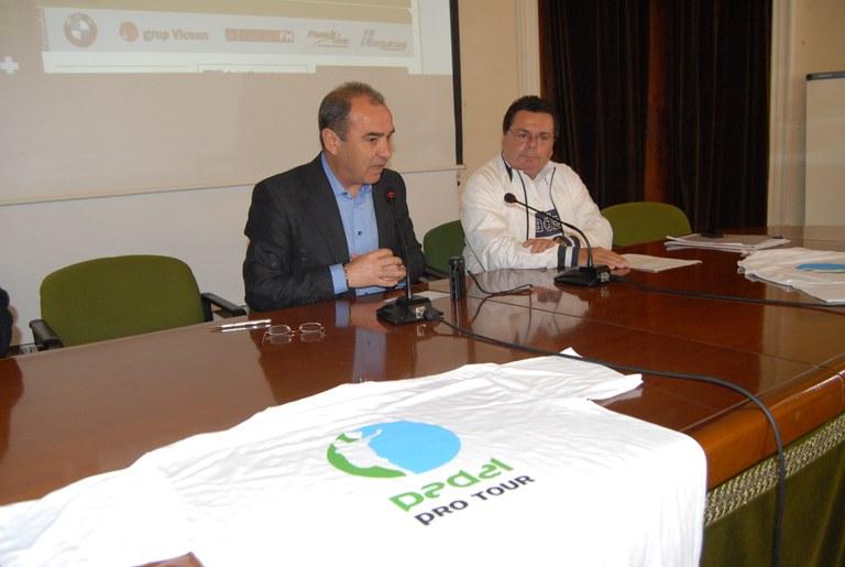 El torneig de pàdel Ciutat de Tarragona se celebrarà del 9 al 15 de maig
