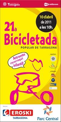 La 21a Bicicletada Popular se celebra el proper diumenge dia 10 d'abril