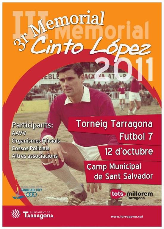 La Conselleria d'Esports organitza el III Torneig Tarragona de Futbol 7 - Memorial Cinto López