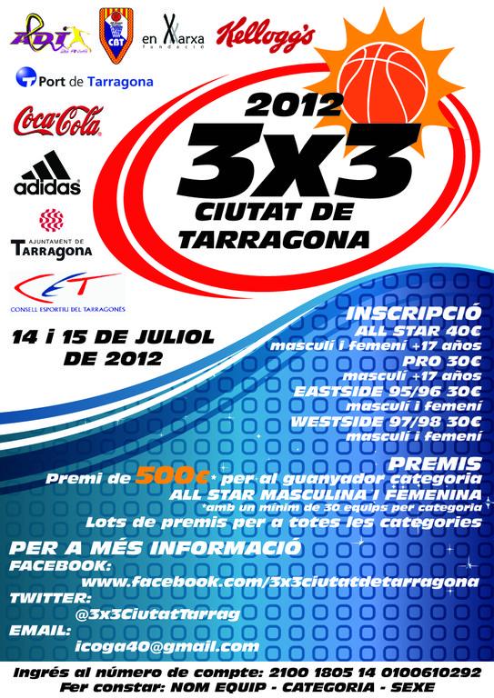 3x3 Ciutat de Tarragona 2012