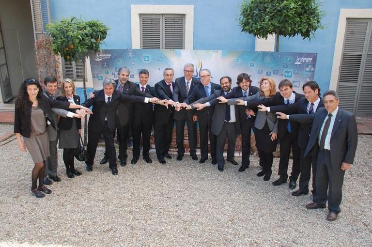 Constitució del Comitè organitzador dels Jocs Mediterranis Tarragona 2017