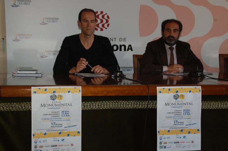 Cursa monumental Tarragona  2012