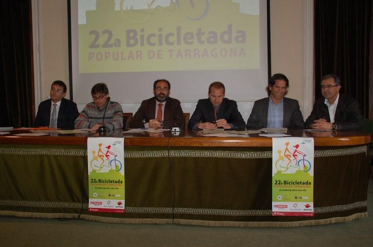 El proper 22 d'abril tindrà lloc la 22a Bicicletada Popular de Tarragona