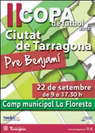 II Copa prebenjamí de futbol Ciutat de Tarragona 2012