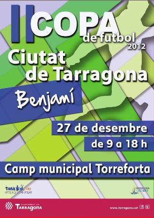 """Les copes benjamí i infantil """"Ciutat de Tarragona"""" es disputaran del 27 al 30 de desembre"""