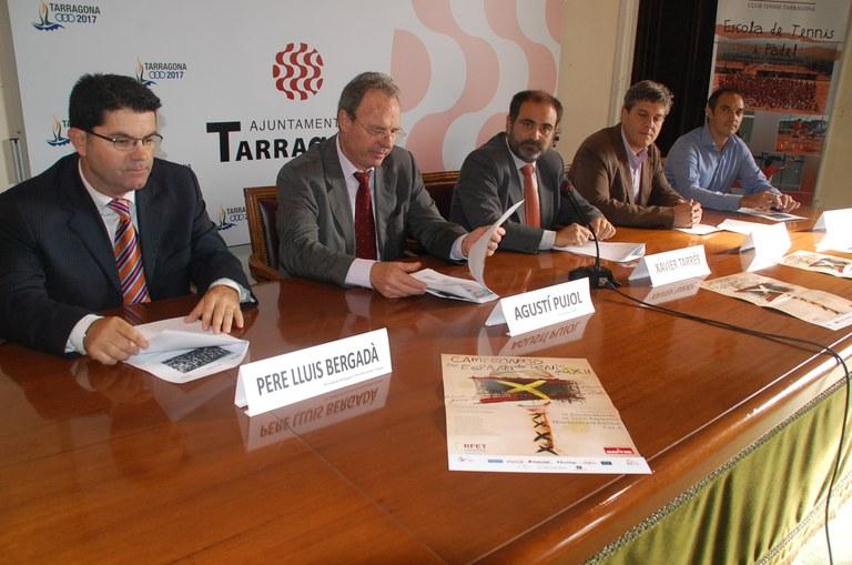 Per segona vegada consecutiva Tarragona es la seu del Campionat d'Espanya Mapfre de Tennis Masculí Absolut