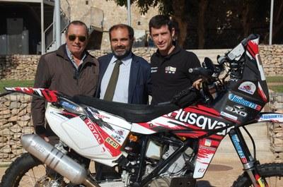"""Presentació de la moto del """"Dakar 2013 Àlex Busquets"""""""