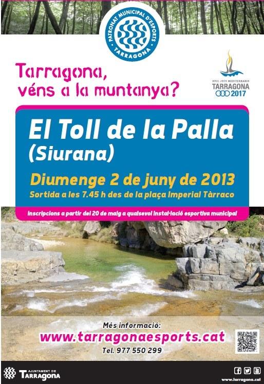 """El Patronat Municipal d'Esports de Tarragona, segueix amb el programa """"Tarragona, véns a la muntanya?"""""""