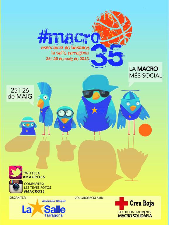 """La """"Macrodiada La Salle Tarragona 2013"""" serà solidaria i interactiva"""