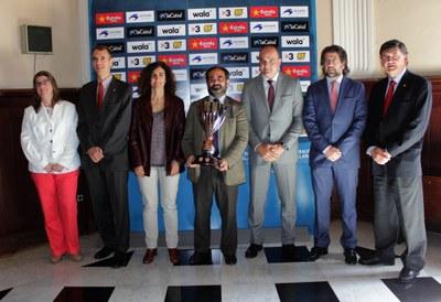 """Presentades les semifinals """"Copa de Catalunya"""" de futbol"""