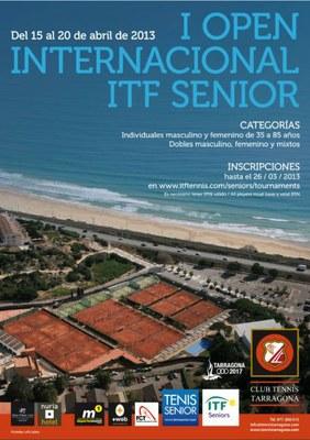 Tarragona acull el I Open Internacional ITF sènior de tennis