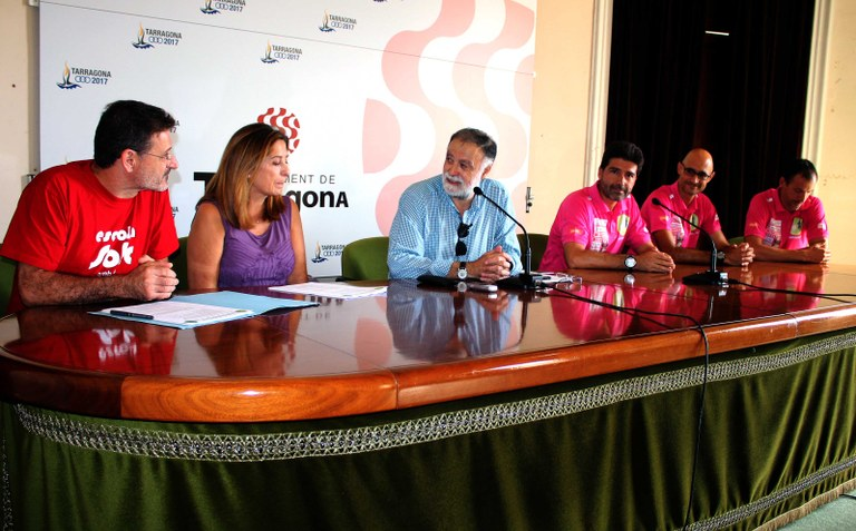 Tarragona participa en el Trajecte Solidari 100 km pel GR-92