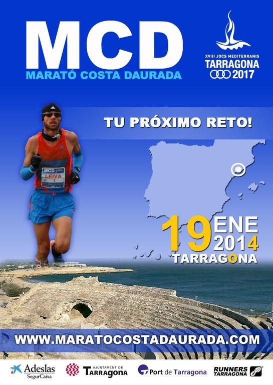 """Aquest diumenge es disputa la """"Marató Costa Daurada Tarragona 2017"""""""