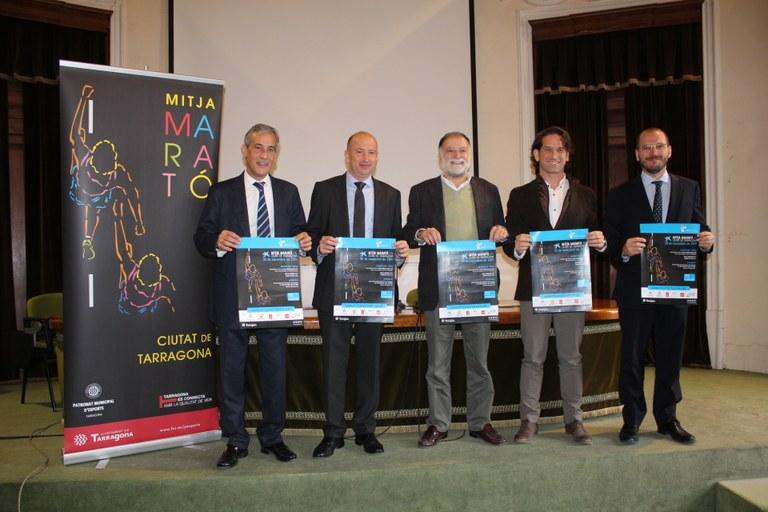 El 30 de novembre se celebrarà la Mitja Marató + 10K Ciutat de Tarragona