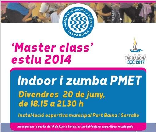 """El Patronat Municipal d'Esports organitza la """"Master class"""" estiu 2014"""