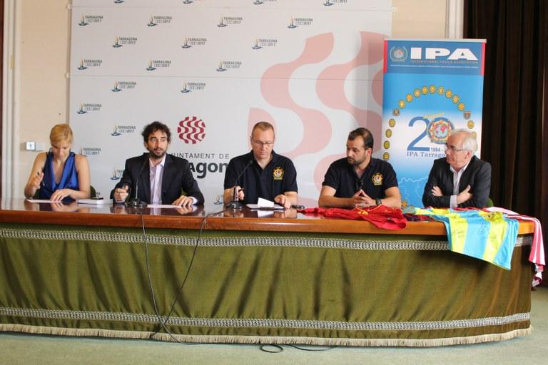 Tarragona acull el XII Campionat Internacional de futbol 7 per a policies