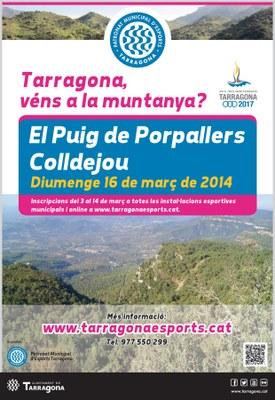 """Tarragona véns a la muntanya va """"El Puig dels Porpallers"""""""