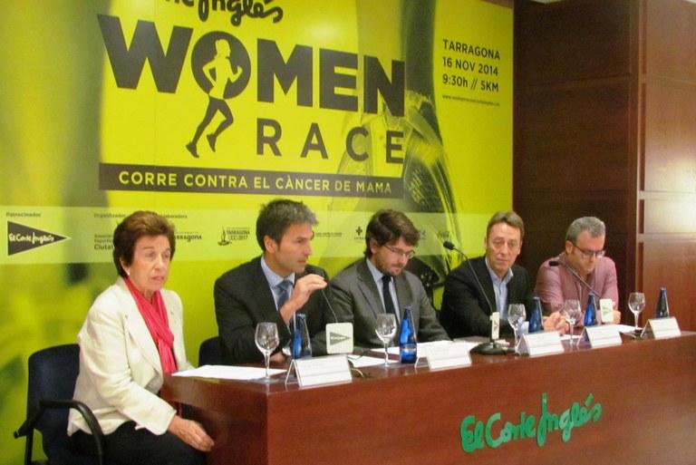 Diumenge tindrà lloc la Woman Race El Corte Inglés