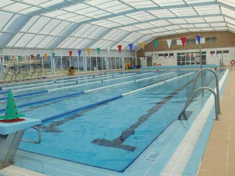 La piscina municipal de Sant Pere i Sant Pau torna a obrir demà, dilluns