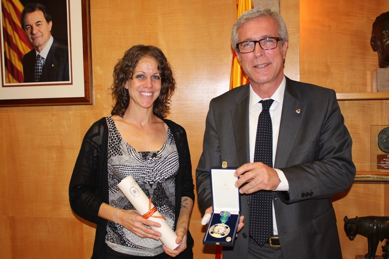 Natalia Rodríguez ingressa a la Real Orden del Mérito Deportivo
