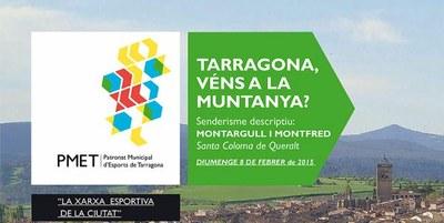 """Nova sortida """"Tarragona, véns a la muntanya?"""" hivern 2015"""