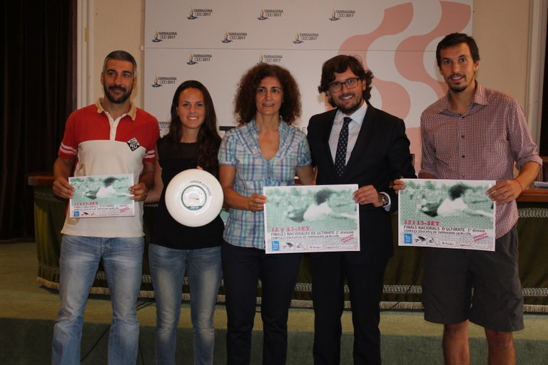 Tarragona acull les finals del Campionat d'Espanya de Frisbee