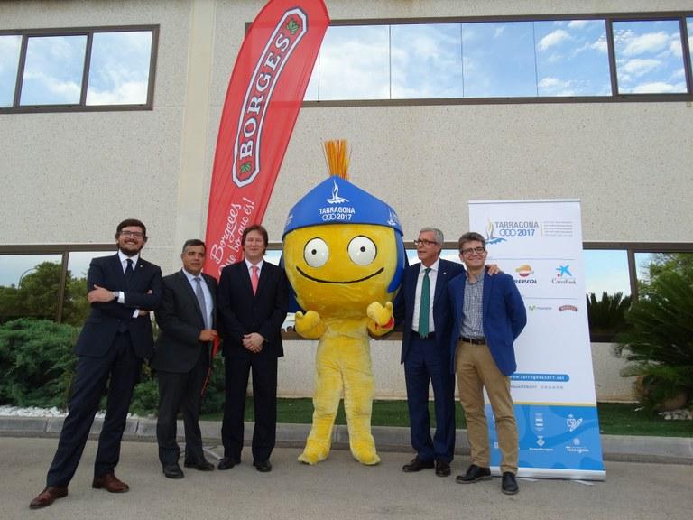 BORGES, nou patrocinador oficial dels Jocs Mediterranis Tarragona 2017