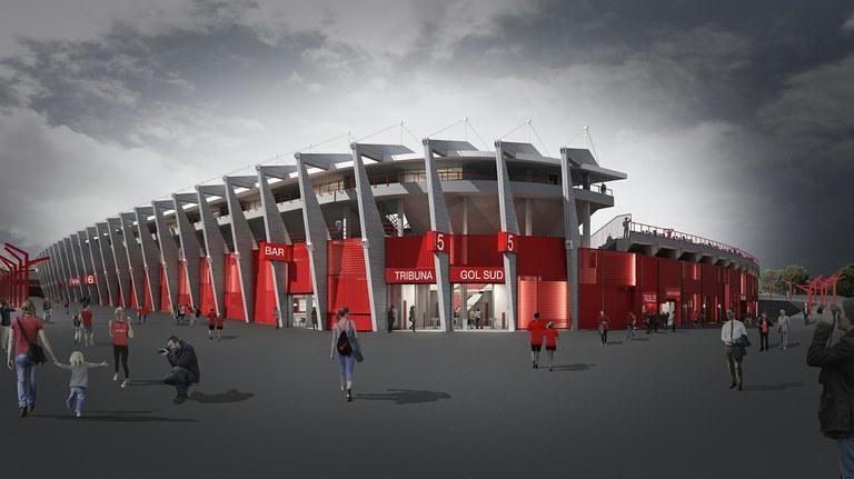 Comencen les obres de reforma del Nou Estadi en motiu del Jocs del Mediterrani