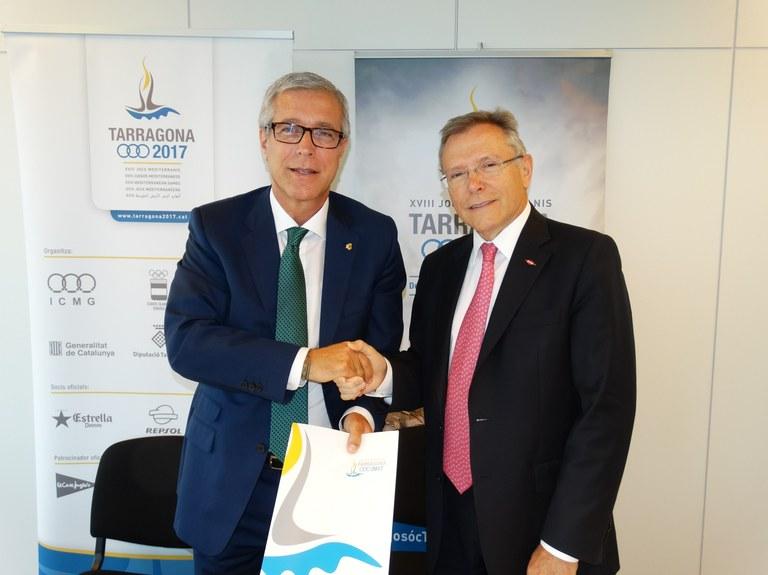 DOW CHEMICAL col.labora amb els Jocs Mediterranis Tarragona 2017