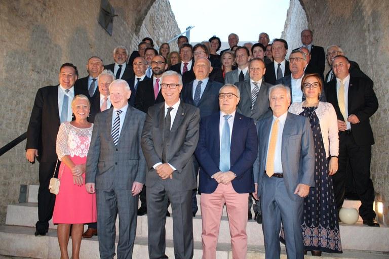 El circ romà de Tarragona acull el sopar de benvinguda dels membres dels comitès olímpics europeus